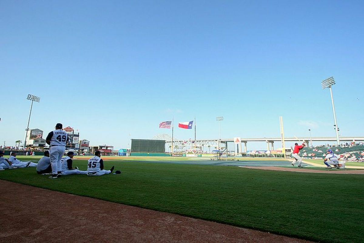 Whataburger Field...home of the Corpus Christi Hooks