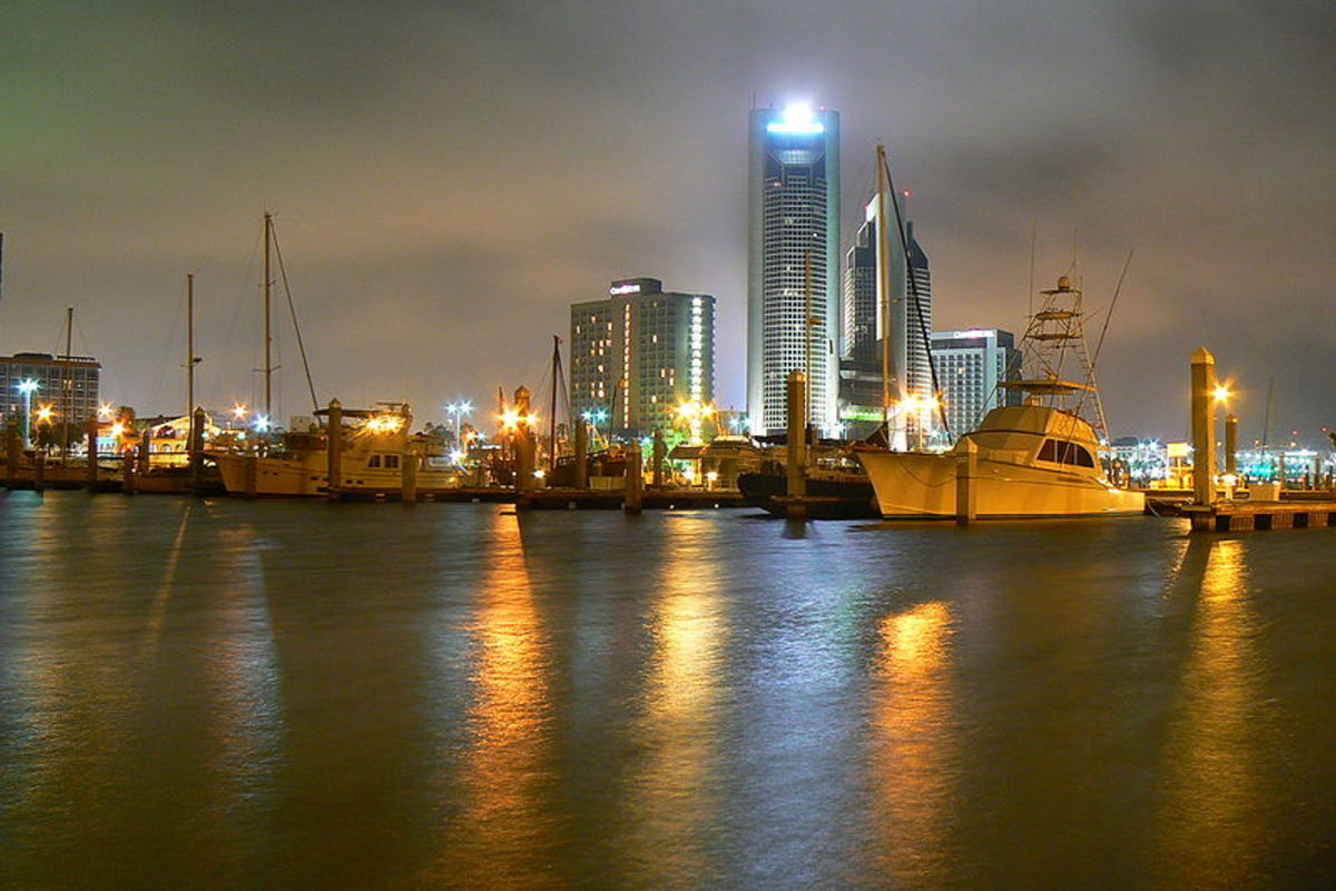Visiting Corpus Christi, Texas