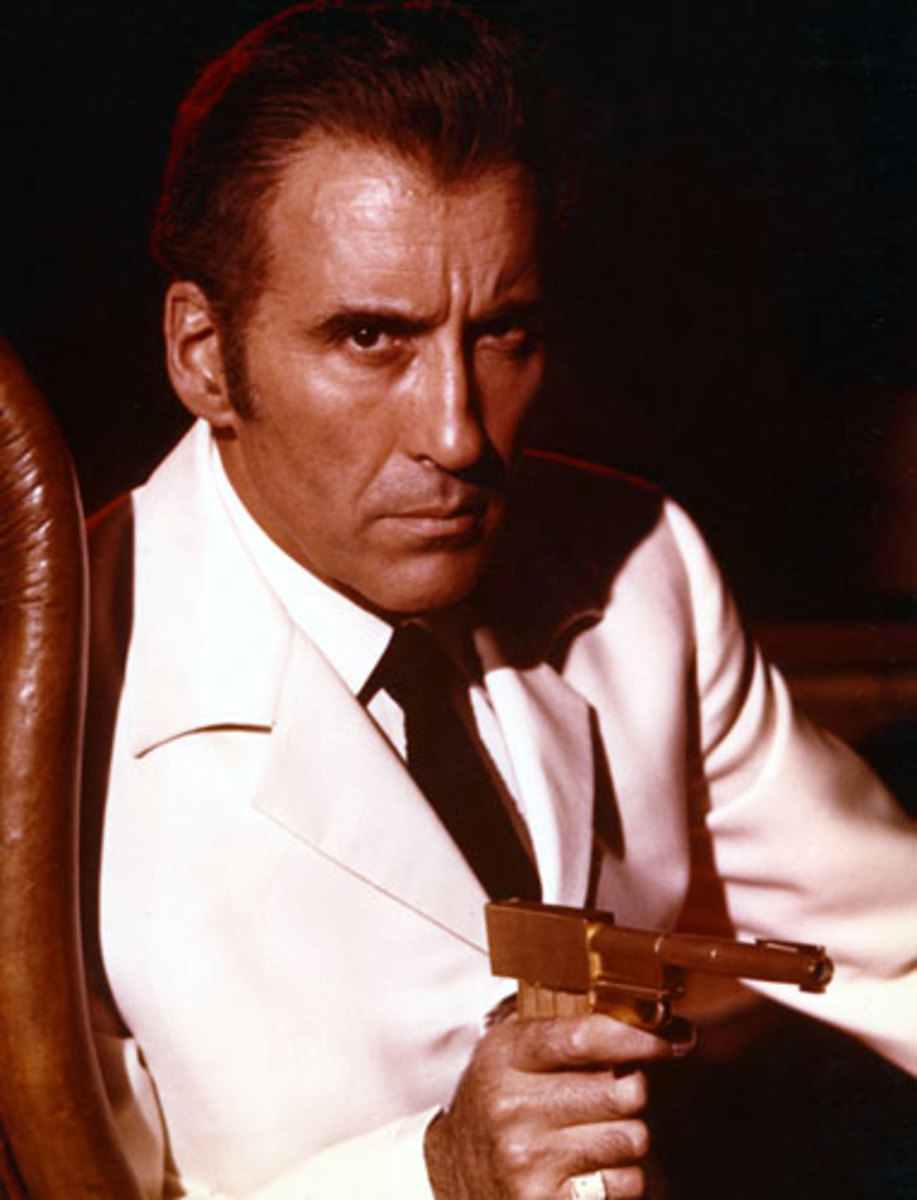 Lee's excellent Scaramanga is a dark shadow of Bond and one of the series' defining villains.