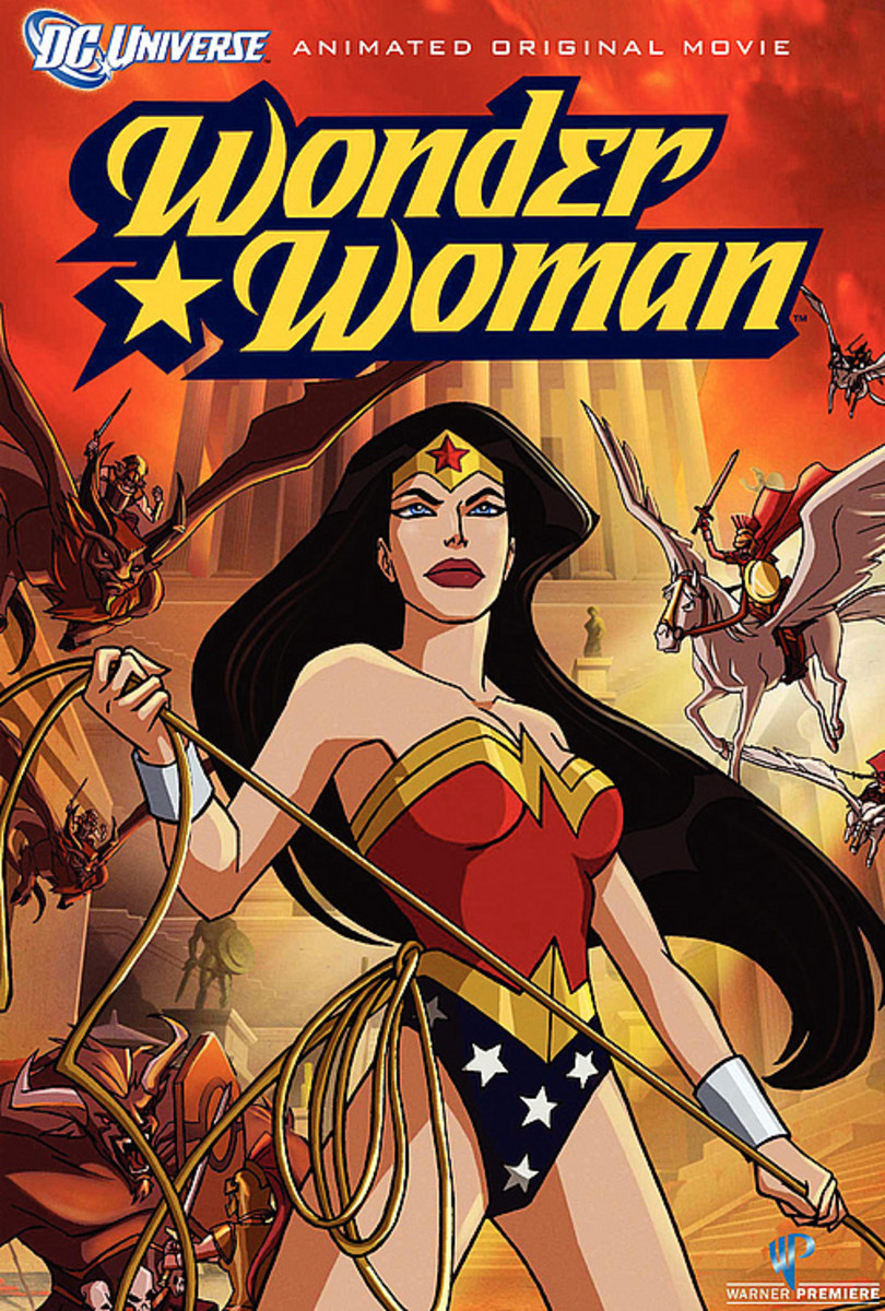 Promotional poster for Wonder Woman '09.