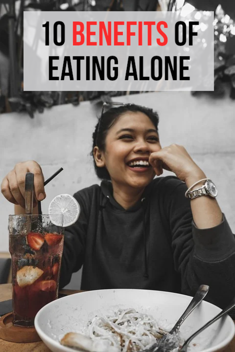 Solo dining is often portrayed as somehow unhealthy or antisocial, but this article explores 10 of the main positives...