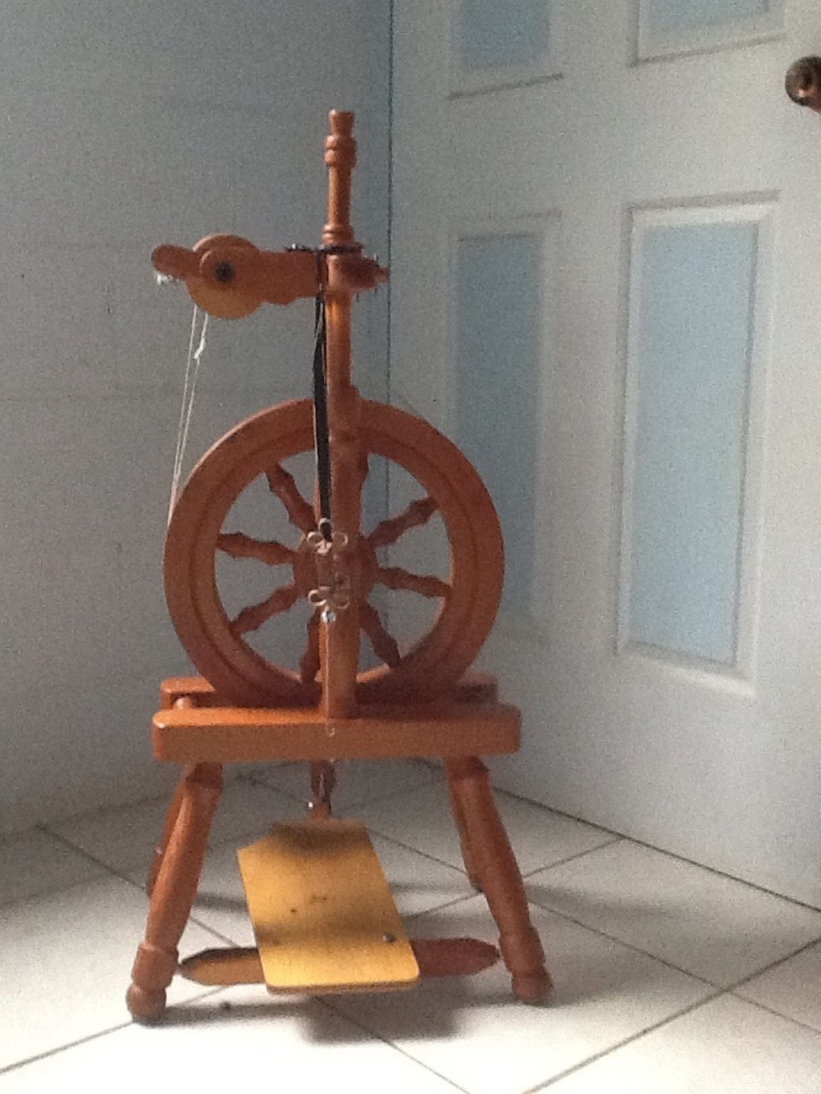 My wife's 'Joey' spinning wheel.