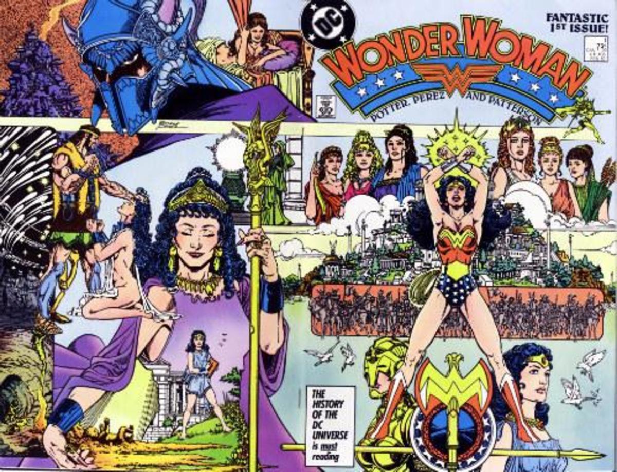 Wonder Woman #1 cover.