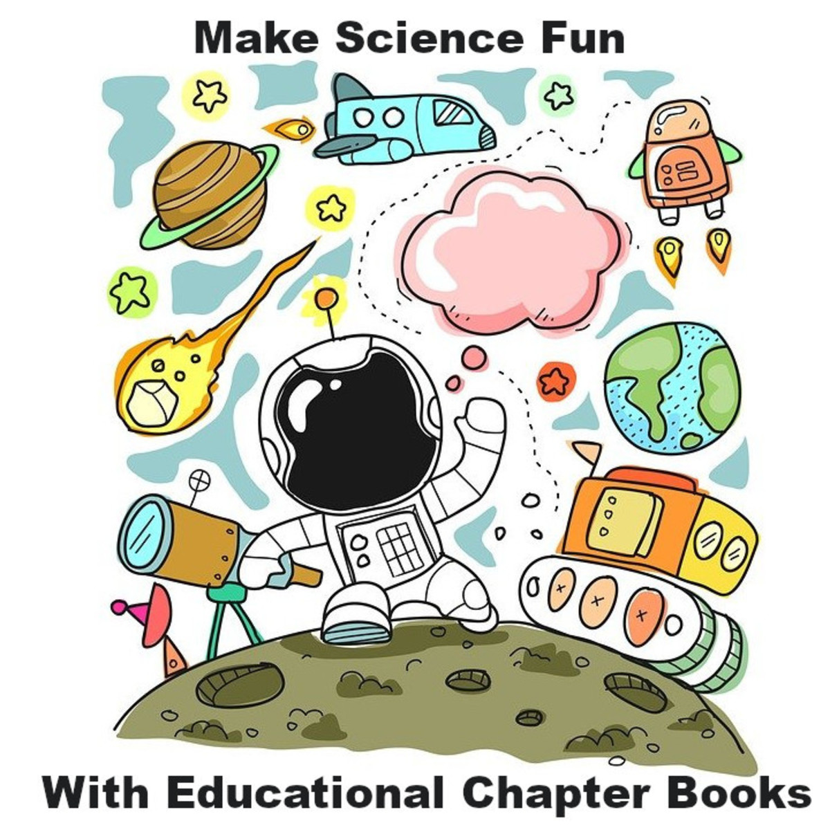 Encourage a love of science with educational chapter books that teach scientific concepts while telling fun stories.