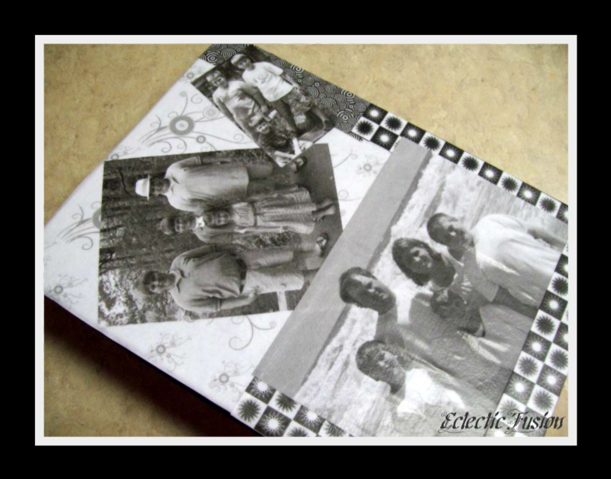 How To Decoupage A Photo Album