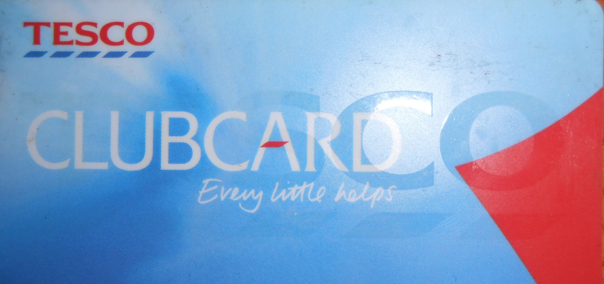This is my worn and used Tesco Clubcard and a key competitive strength of Tesco Plc. Though Clubcard Tesco is able to understand its customers and leverage its brand. There is a lot of value imbedded in the millions of these cards in issue.