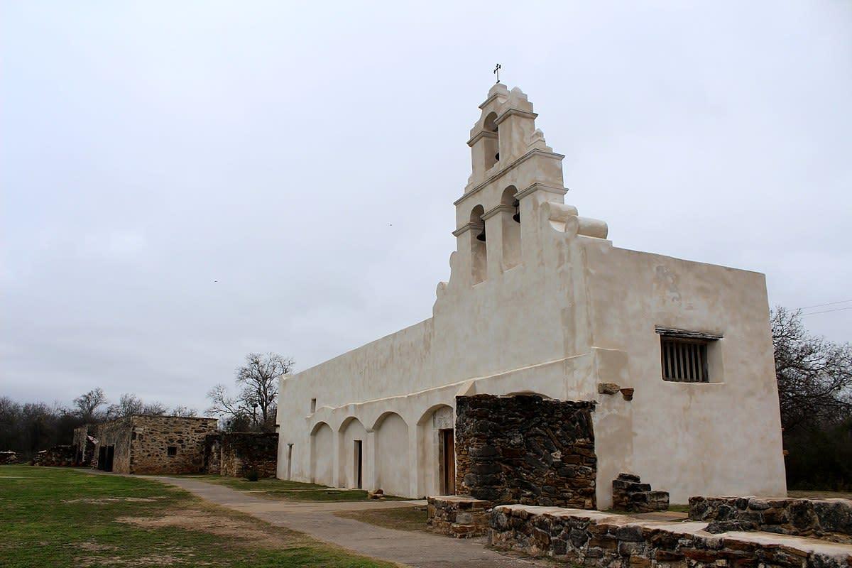 Mission San Juan Capistrano in San Antonio, Texas