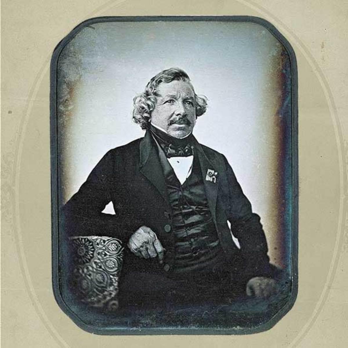 Louis Dagger's own photo taken by Jean-Baptiste Sabatiye-Blow