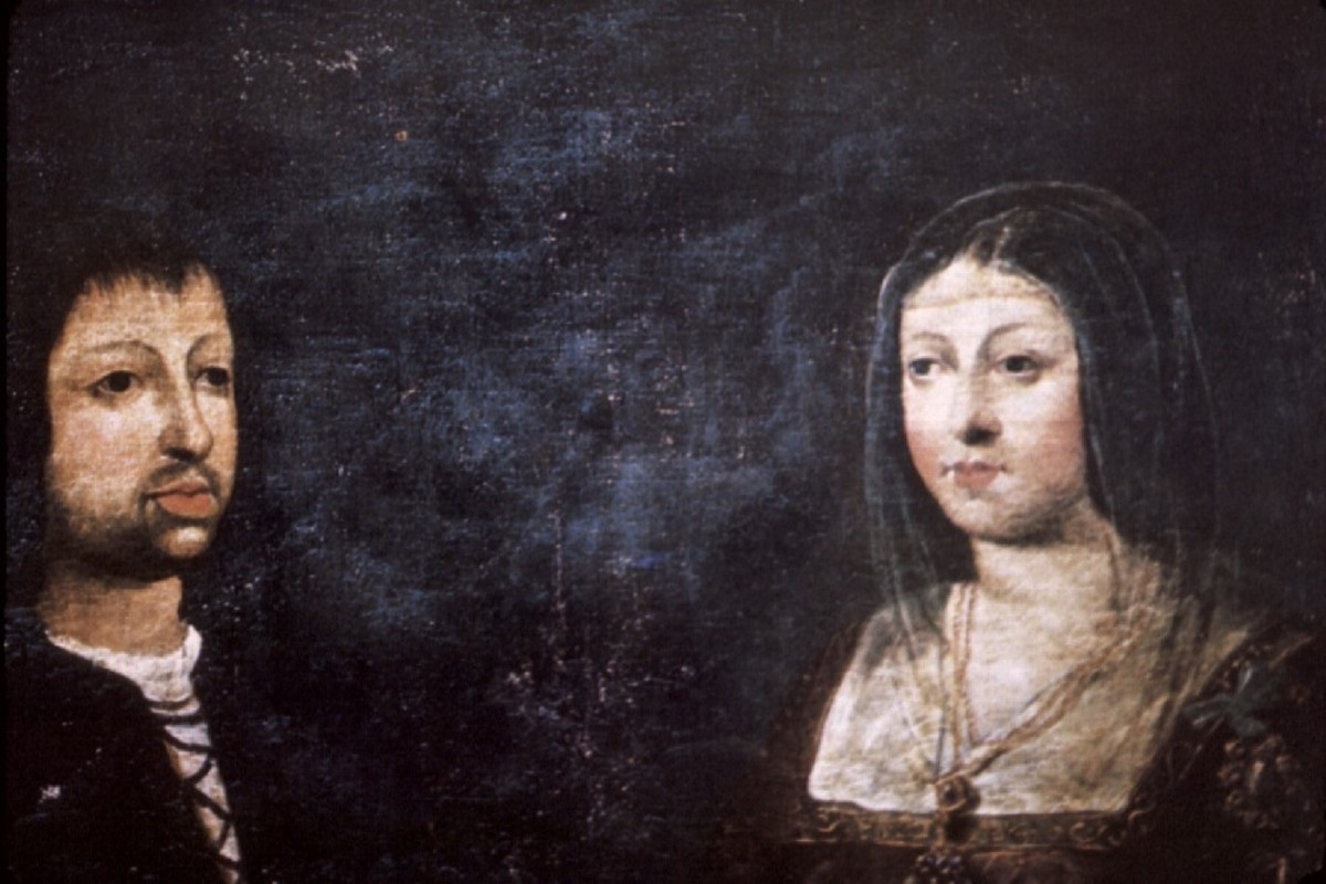 KING FERDINAND & QUEEN ISABELLA OF SPAIN