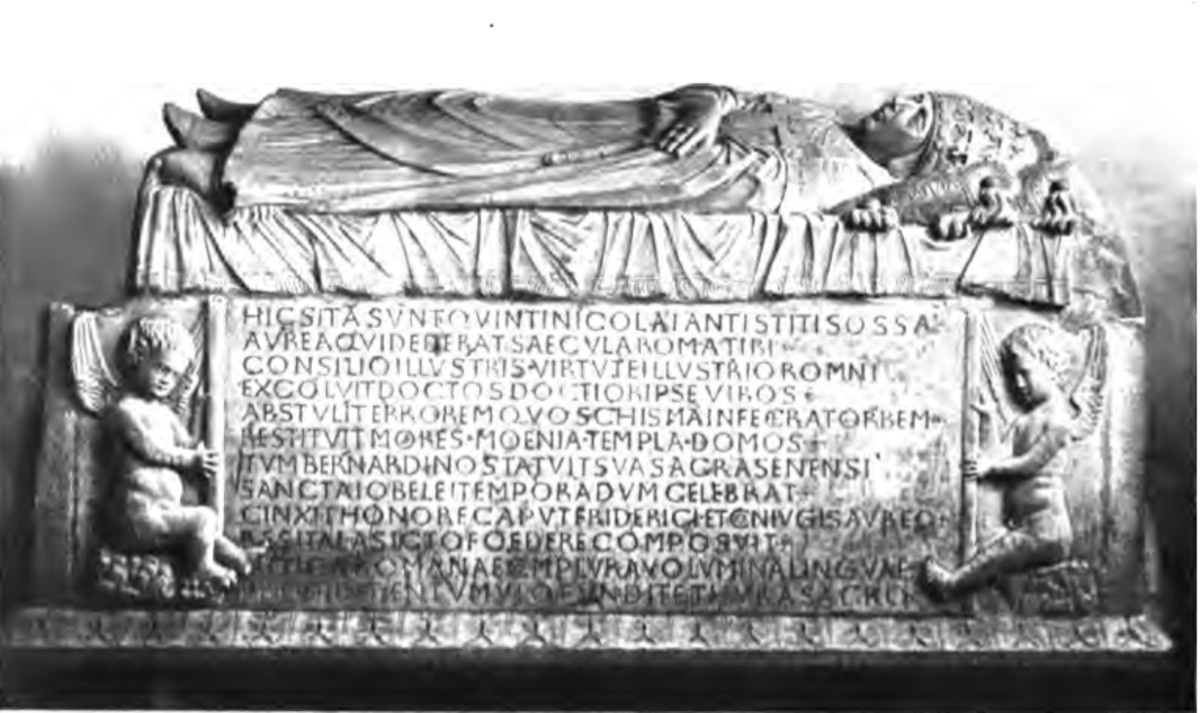 TOMB OF POPE NICHOLAS V