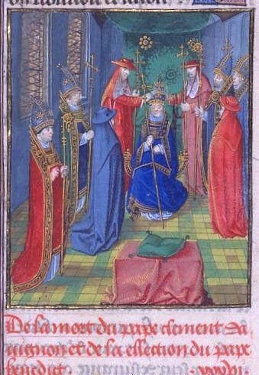 POPE BENEDICT XIII (1394-1417)