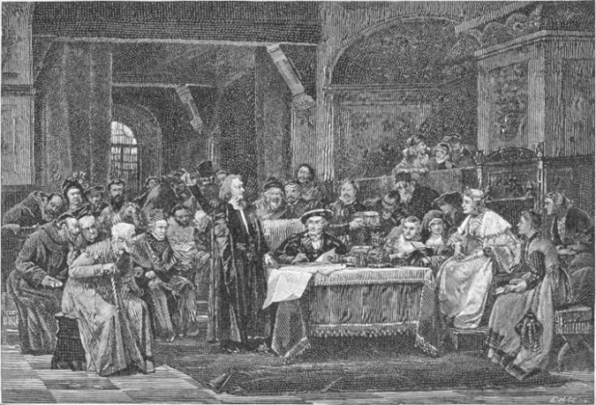 CHRISTOPHER COLUMBUS AUDIENCE WITH FERDINAND AND ISABELLA