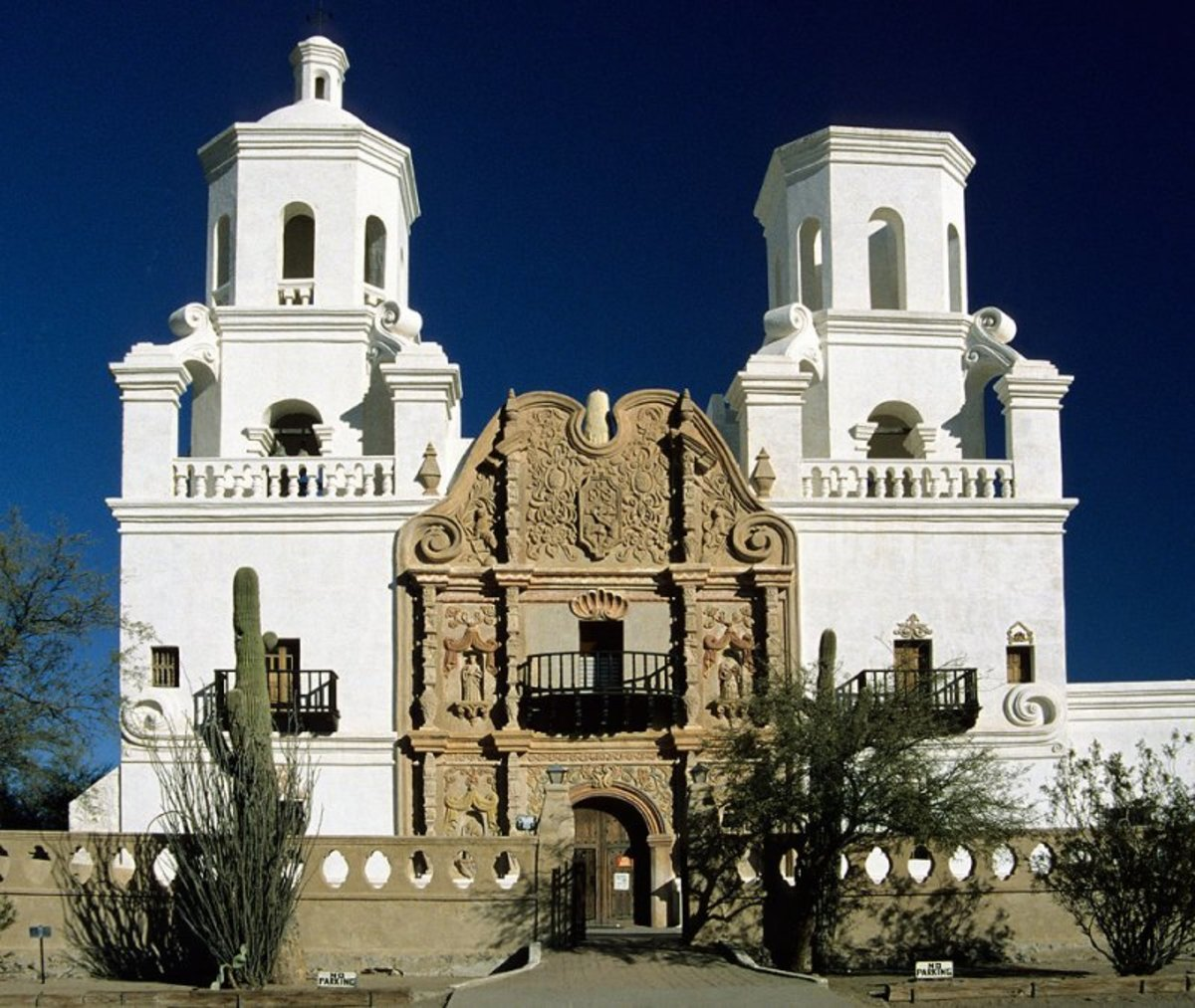 Founded by Father Eusebio Francisco Kino,         Mission San Xavier is also known as the White Dove of the Desert