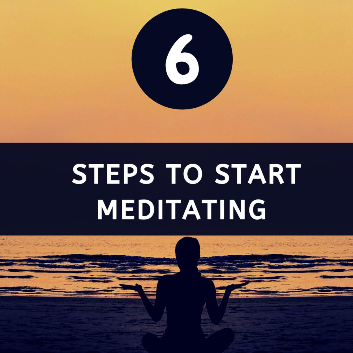 6 easy steps for beginners to start meditating