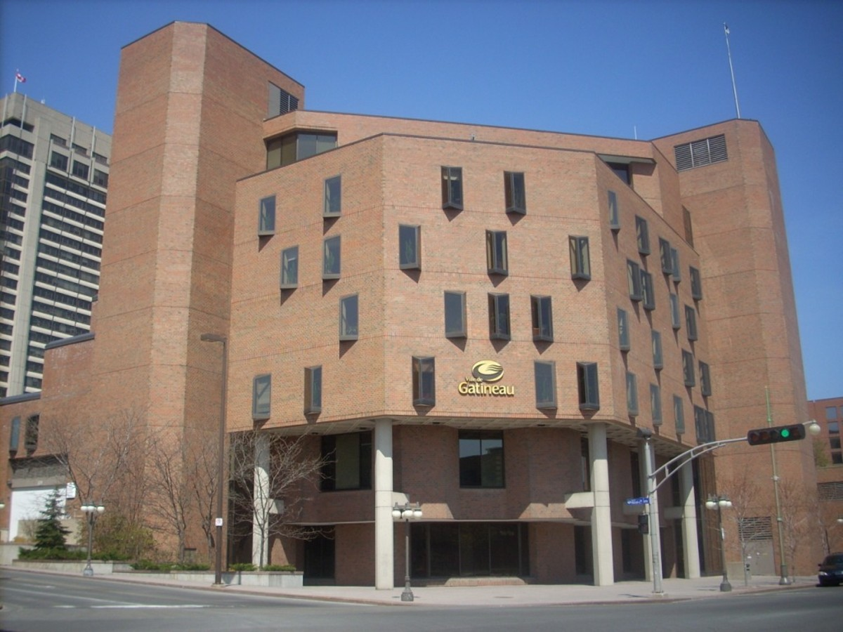 City Hall at Gatineau, Quebec
