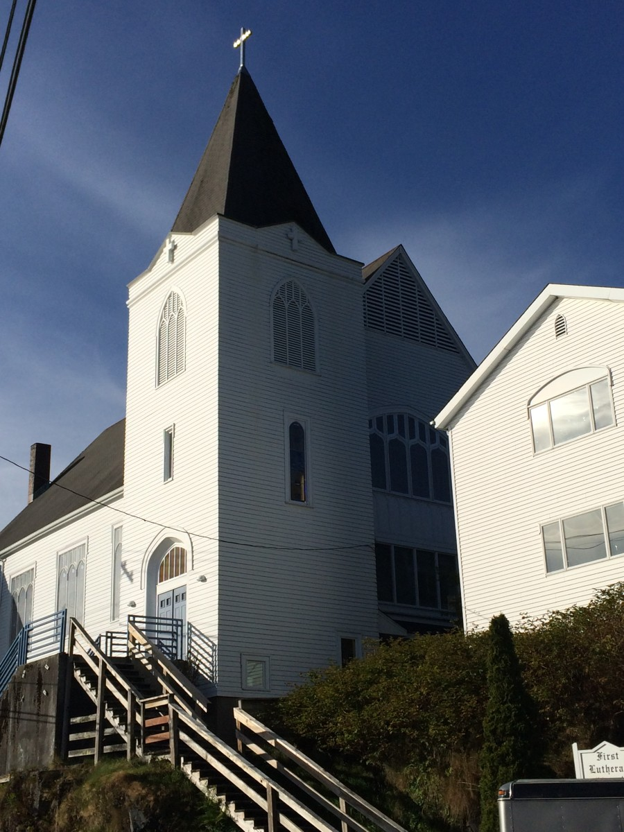 The Lutheran Church on Tongass Ave in Ketchikan, Alaska