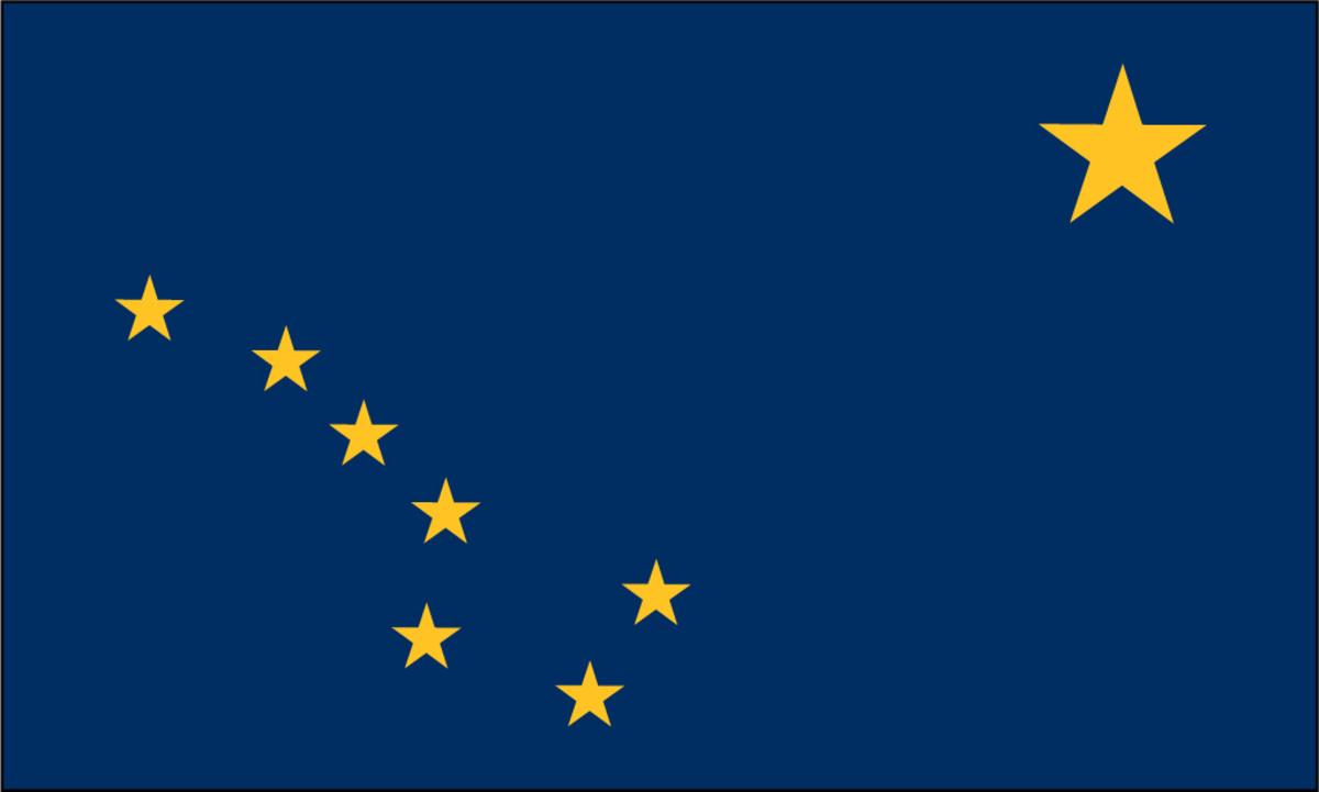State flag of Alaska