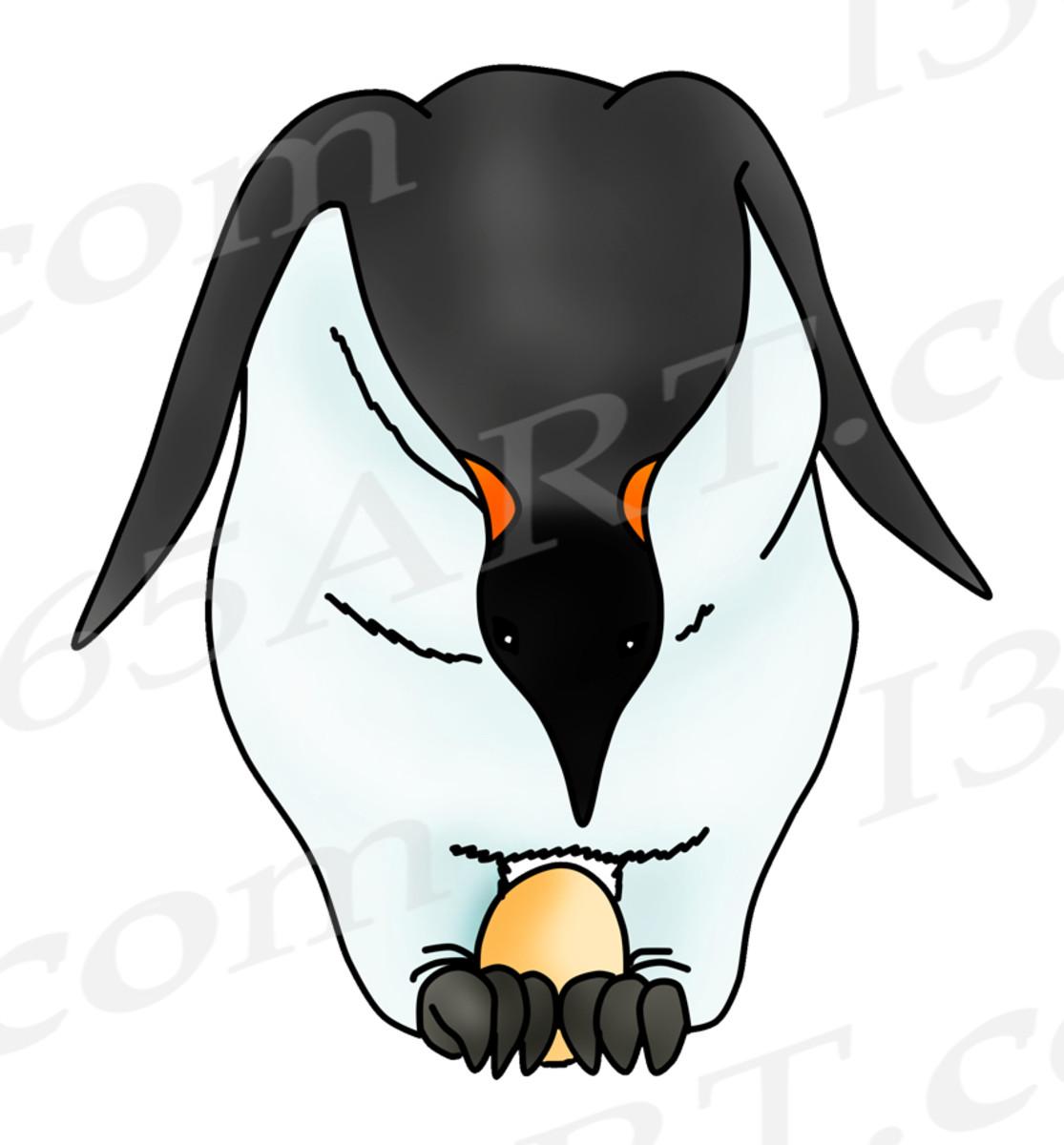 Penguin Nesting Egg