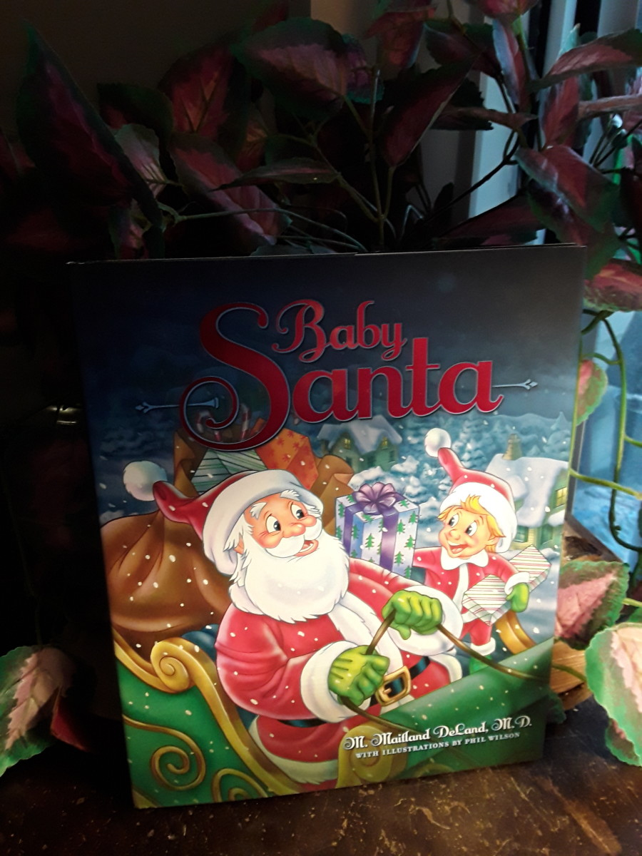 Baby Santa and Christmas Adventures in Delightful Collection of Holiday Picture Books