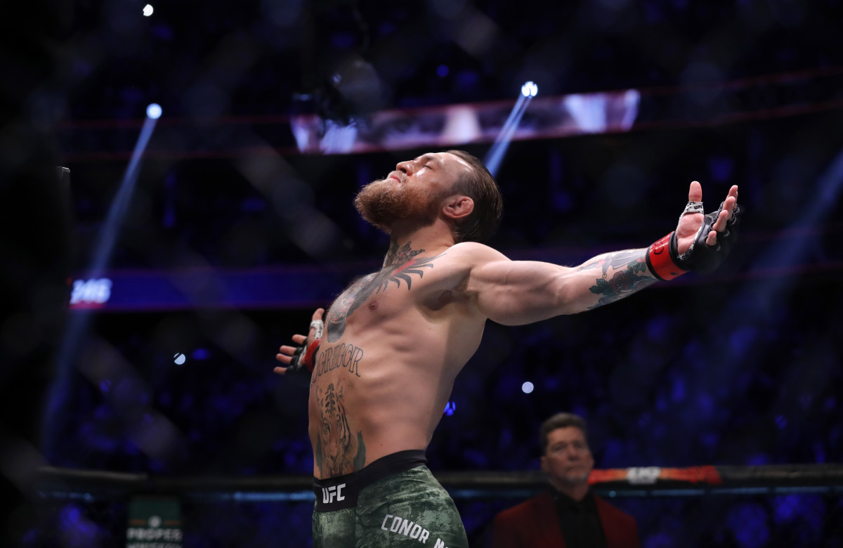 Conor McGregor at UFC 246