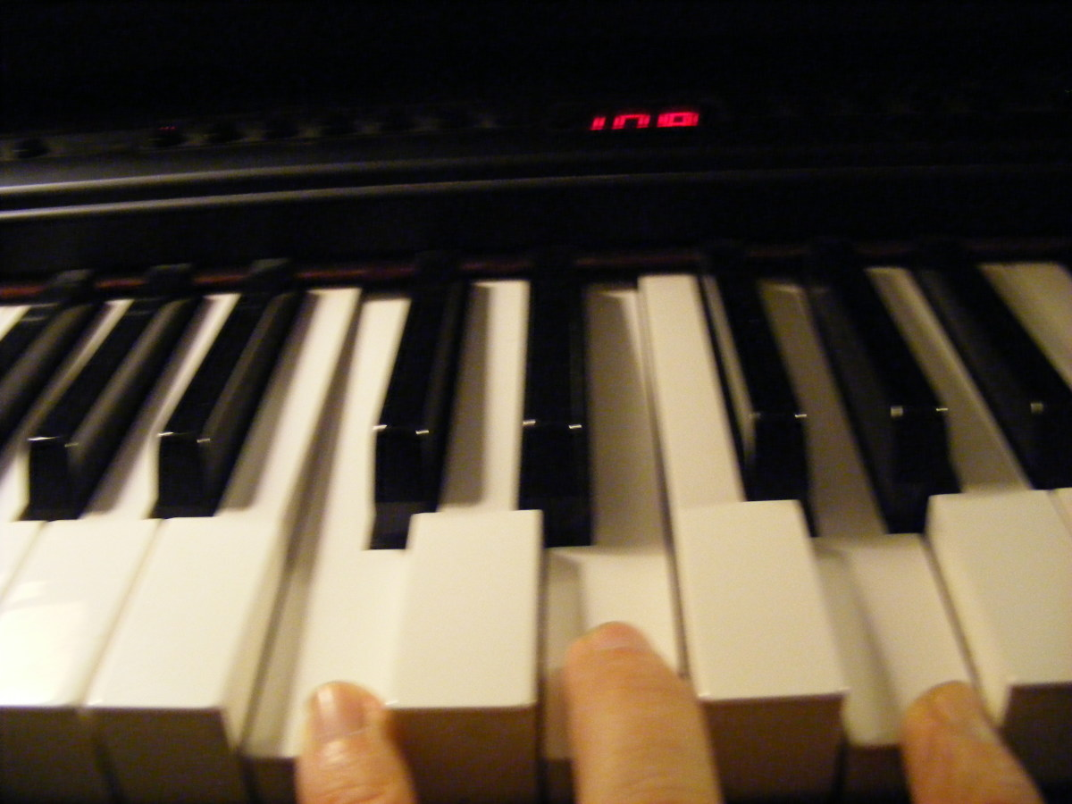 Piano chords in pictures