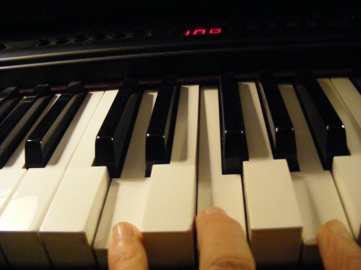 Dm chord