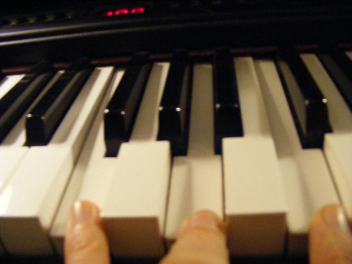 F chord