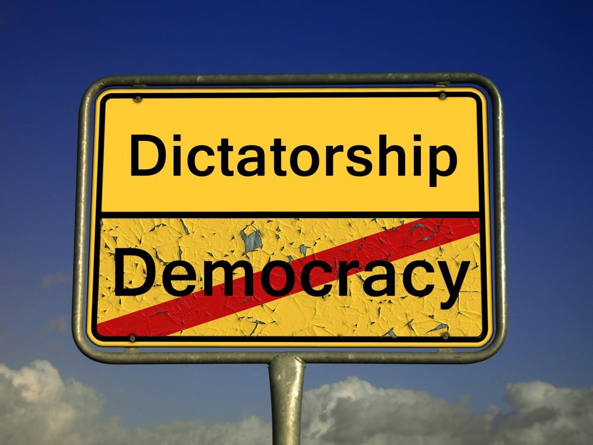 At Times It May Be Hard to Really Tell Apart Democracy from Dictatorship -- Val Karas