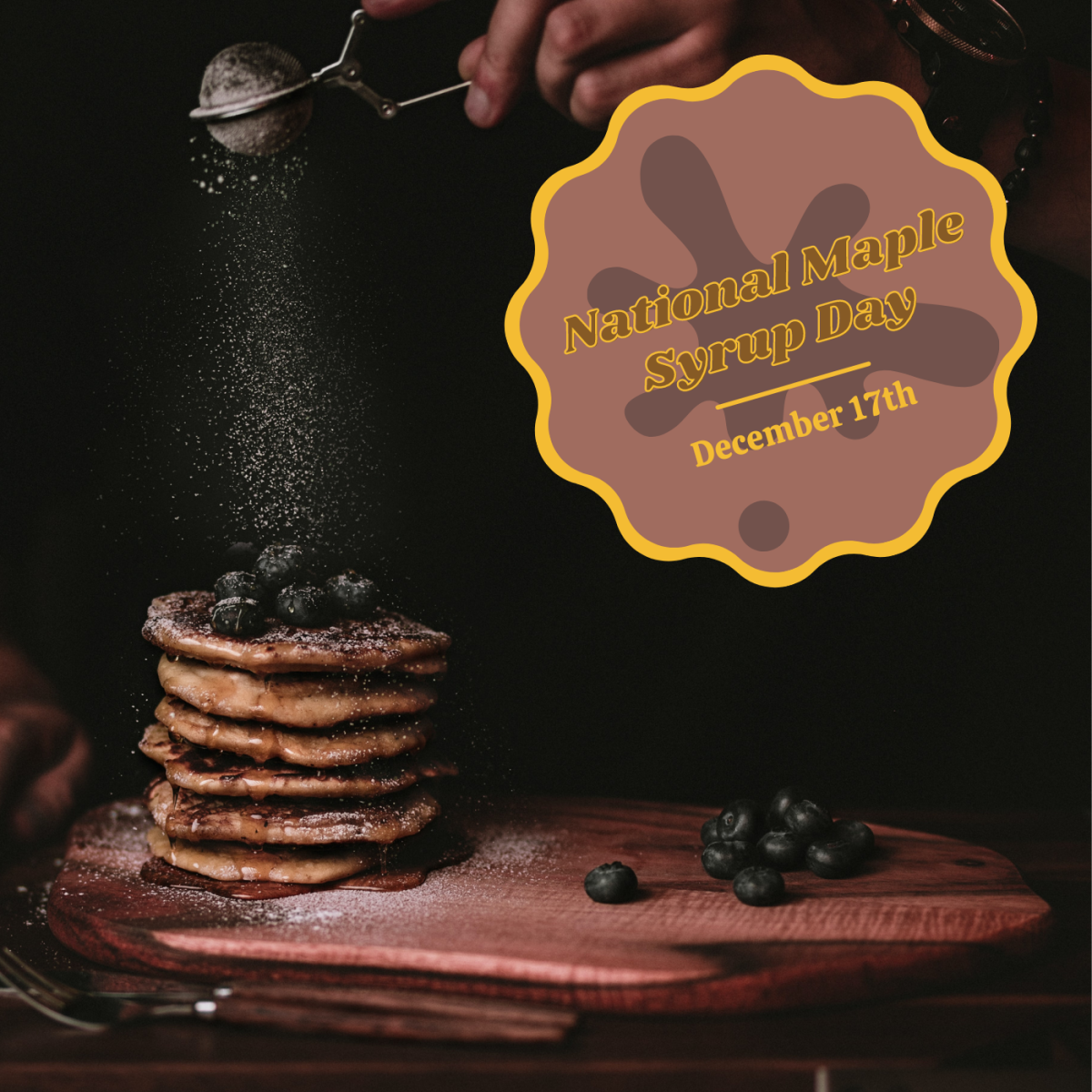 Watch your back, Christmas—December 17th is National Maple Syrup Day!