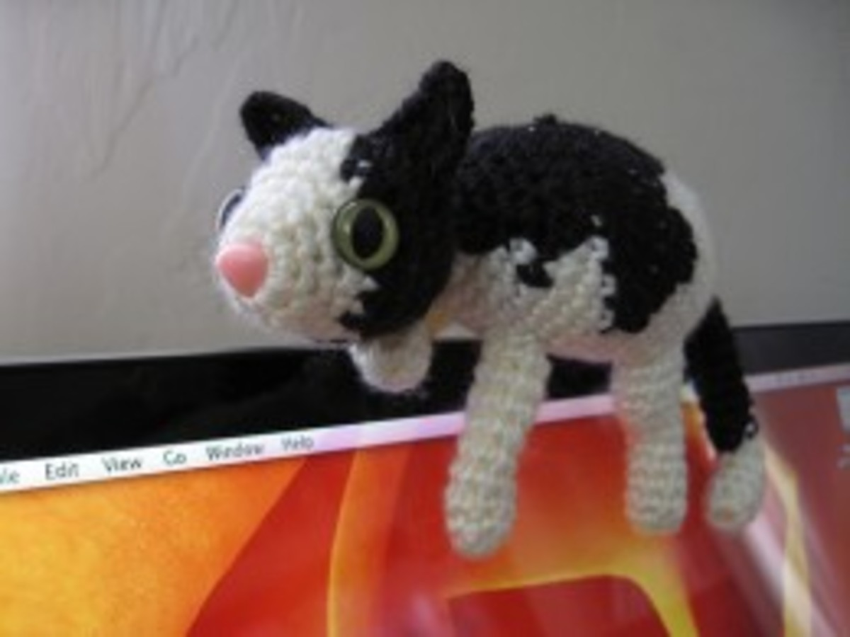 Amigurumi Fat Cat