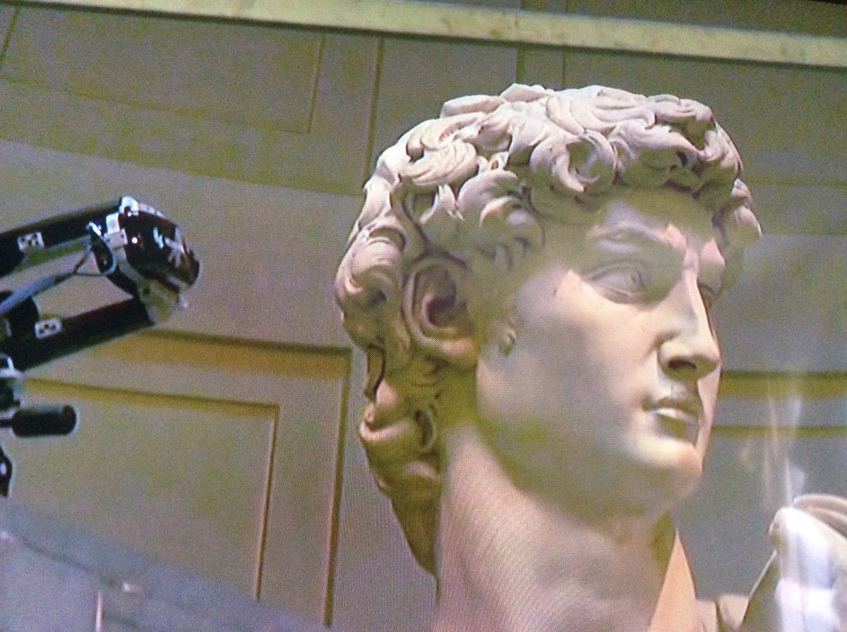 Michelangelo's David is being recreated in 3D tech so that we can get a closer look at this masterpiece.