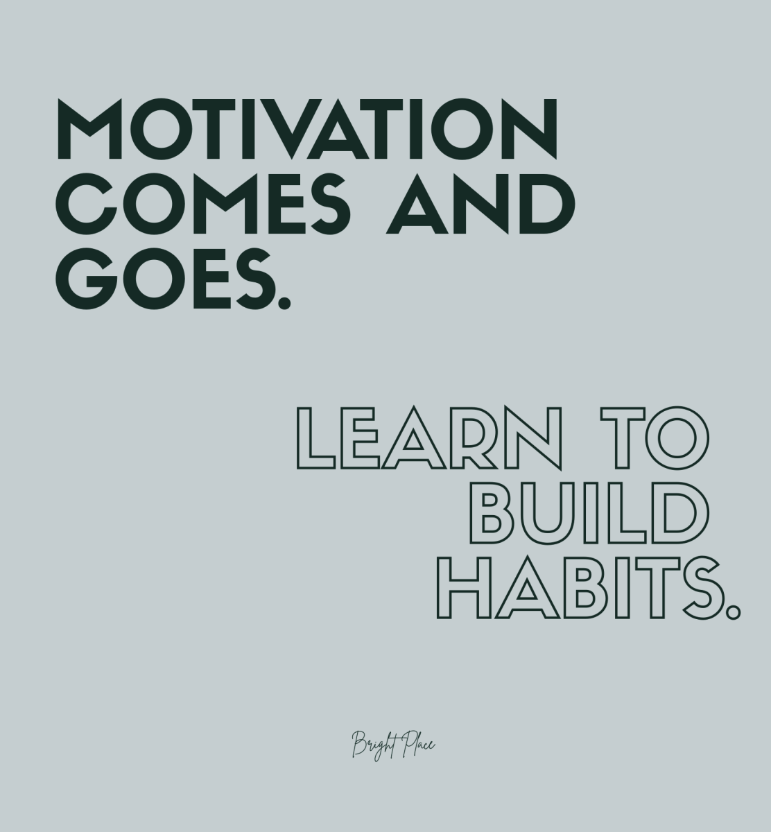 Workout Motivation Quotes/ Home workout Quotes/ Motivation Quotes/ Motivation comes and goes. Learn to build habits.
