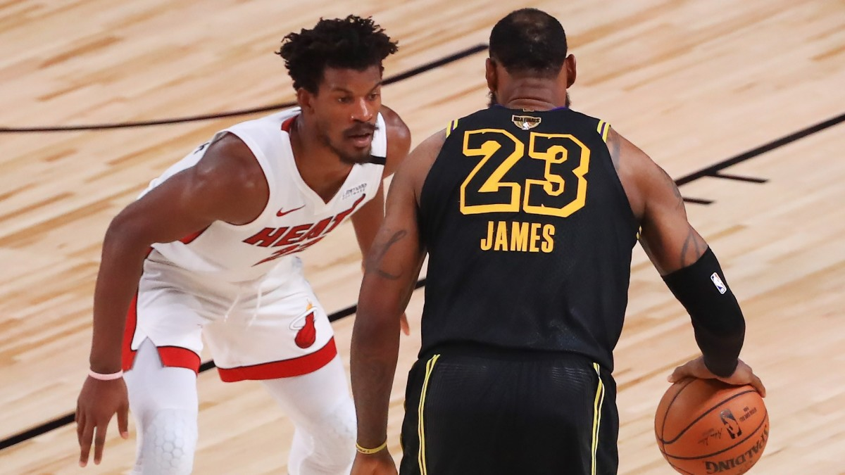 Jimmy Butler & LeBron James