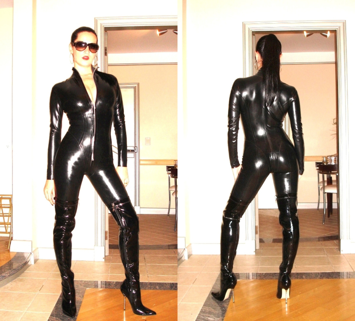 Image by Adrian Fuchs at: http://commons.wikimedia.org/wiki/File:Black_Latex_Catsuit_777.jpg
