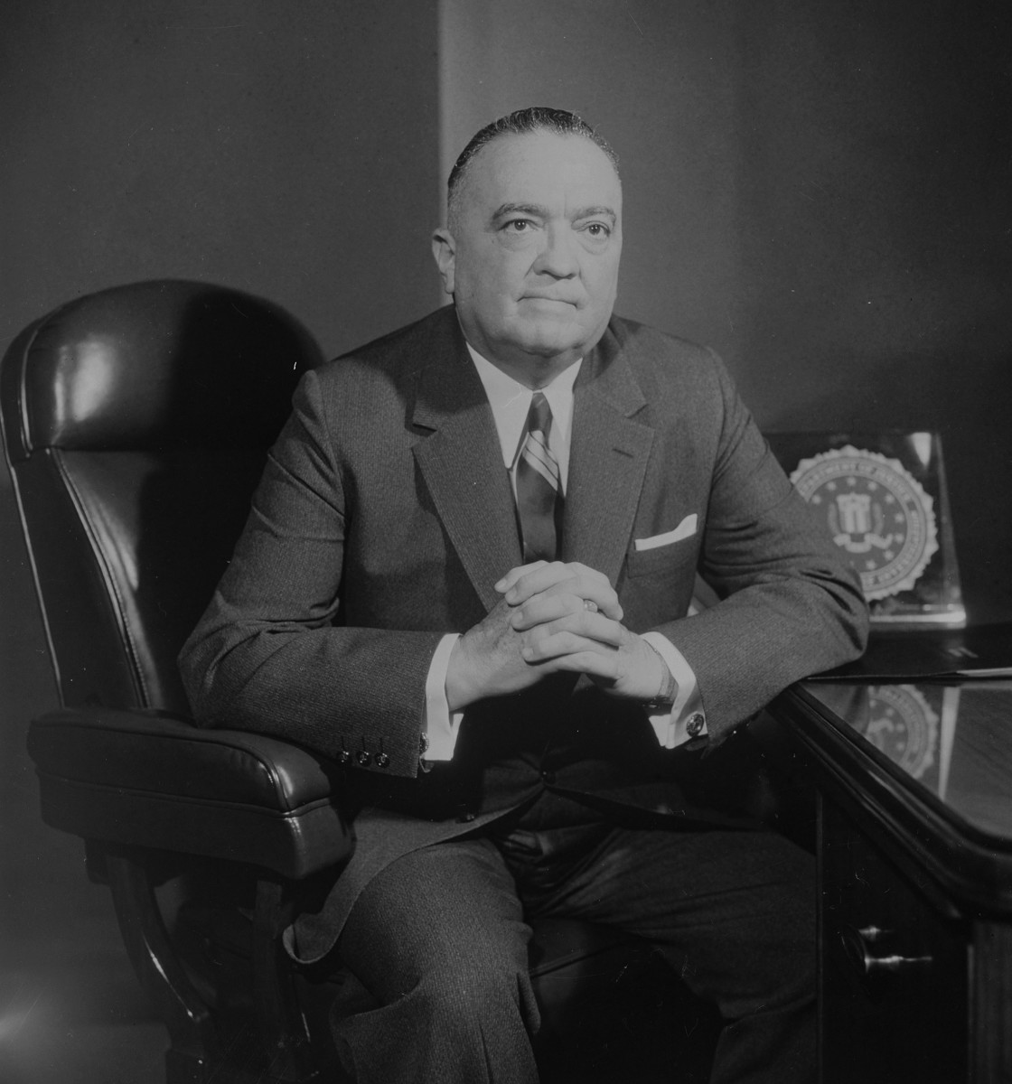 Director of the FBI J. Edgar Hoover