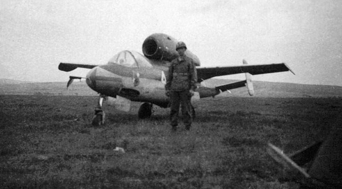 Hitler's He-162 jet