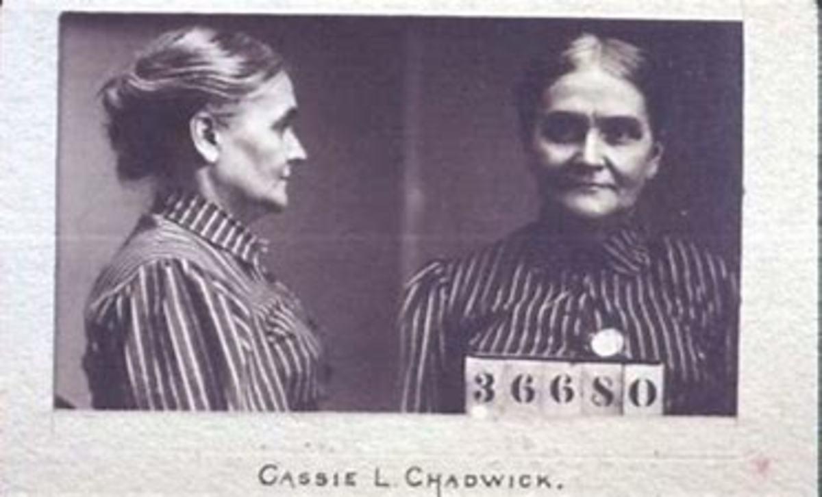 Cassie Chadwick in prison