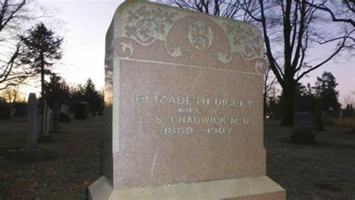 Cassie Chadwick grave marker