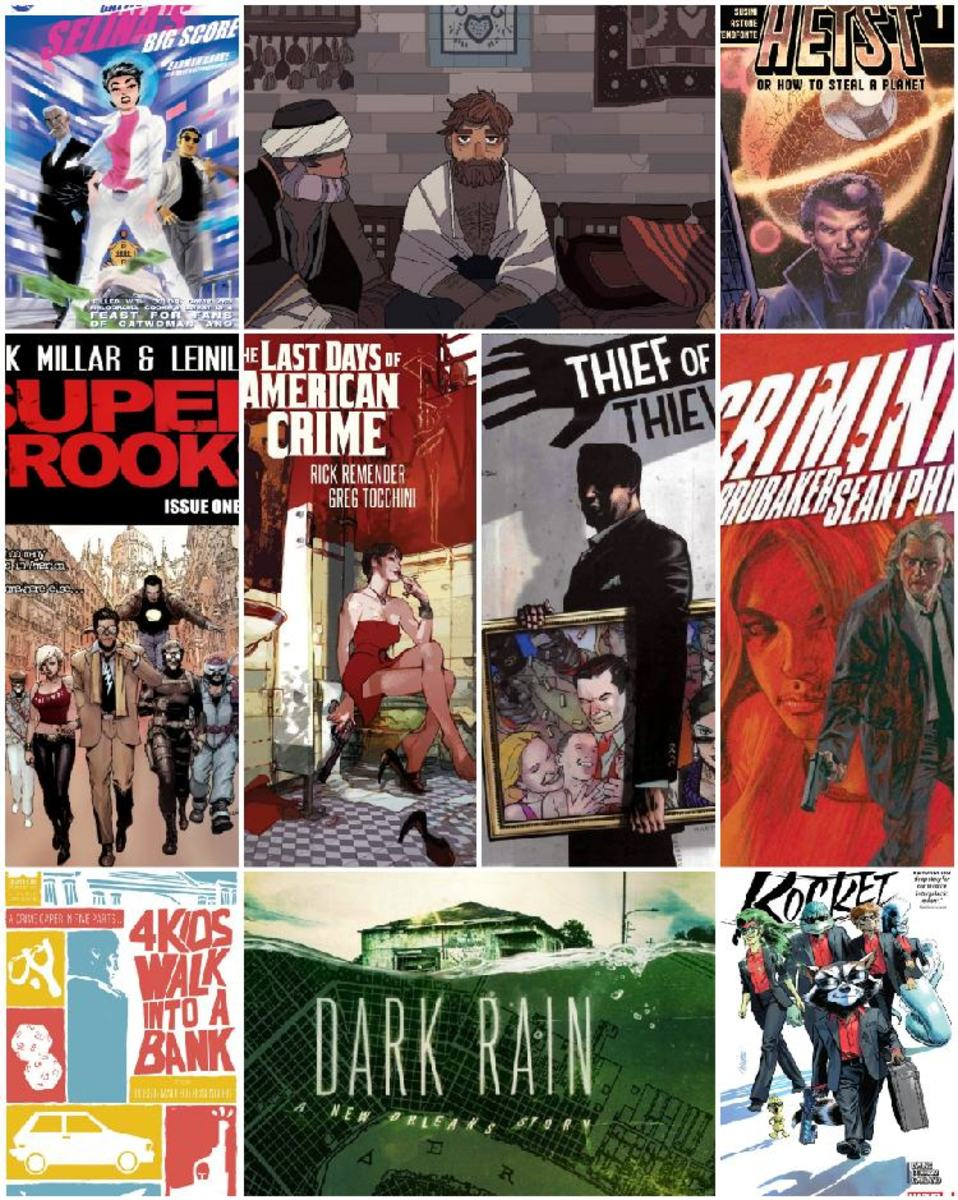10 Heist Comic Books You Should Read Before You Die