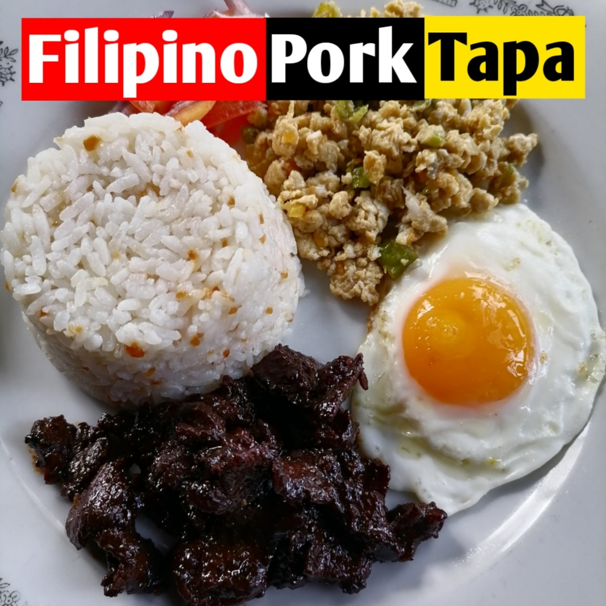 Filipino Pork Tapa