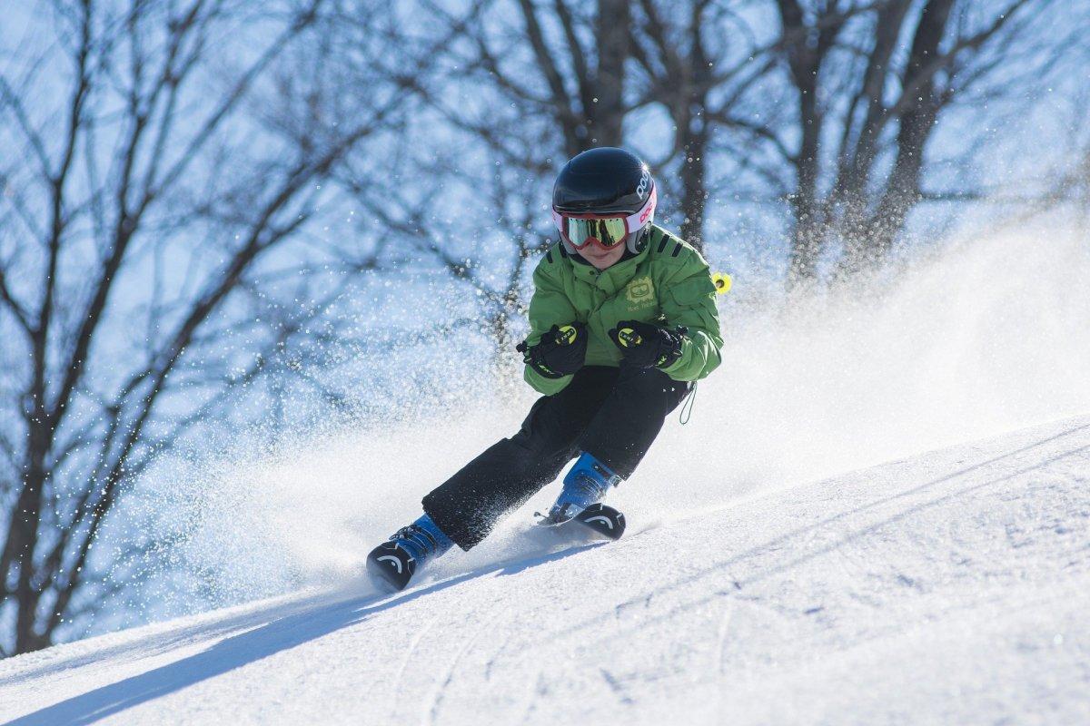 There is no shortage of ski runs...