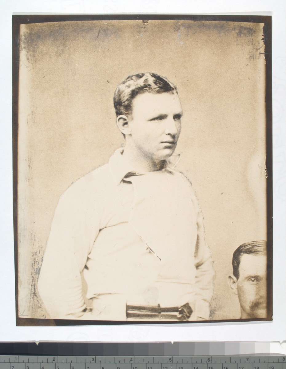 Cap Anson, baseball's first prominent superstar, is one figure whose role in baseball's segregation has been acknowledged by the Baseball Hall of Fame.