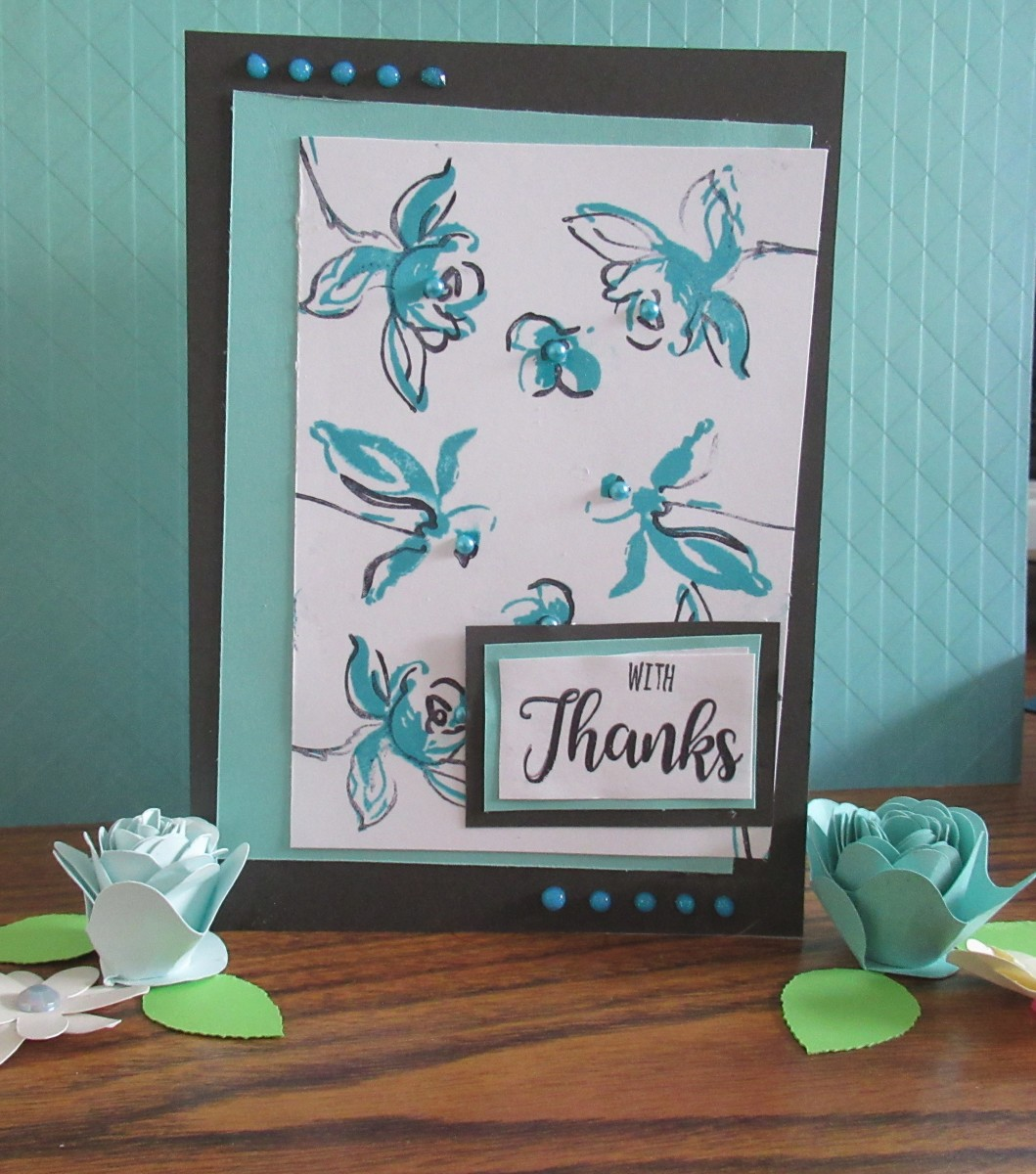 Add more dimension to your cards by adding layers of cardstock to your project
