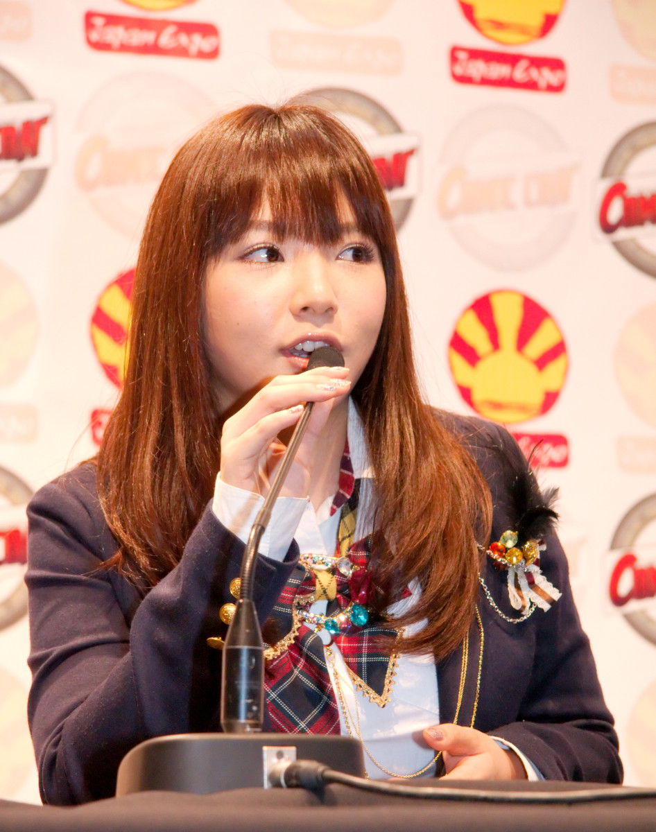 Kayo Noro is seen here in attendace at the Japan Expo in 2009 in Paris, France.
