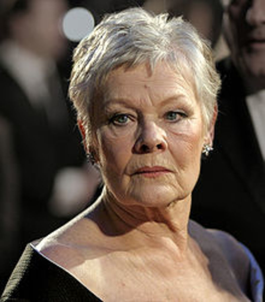 Judi Dench studied at the Central School of Speech and Drama, London