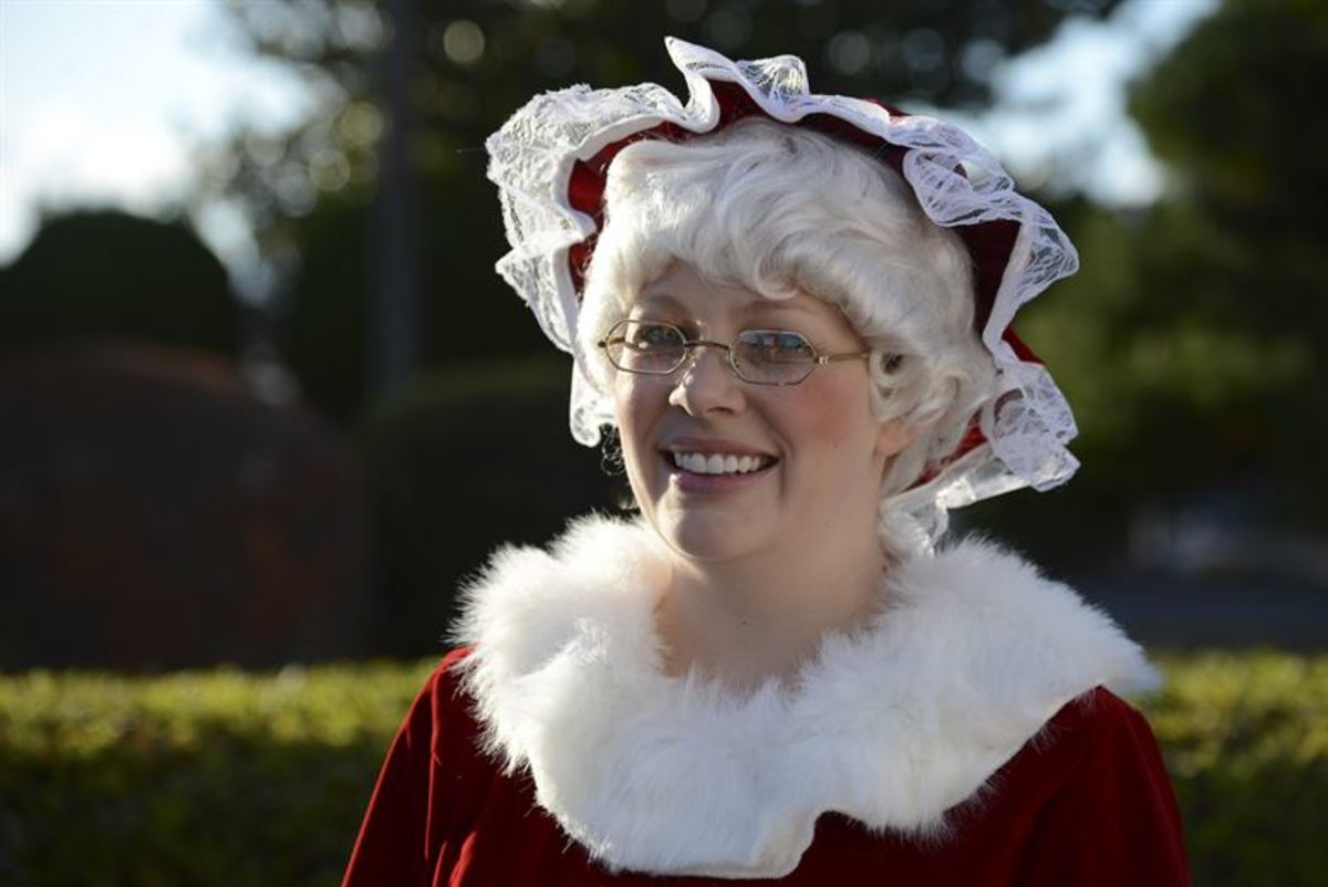 Mrs. Claus is really quite smart...