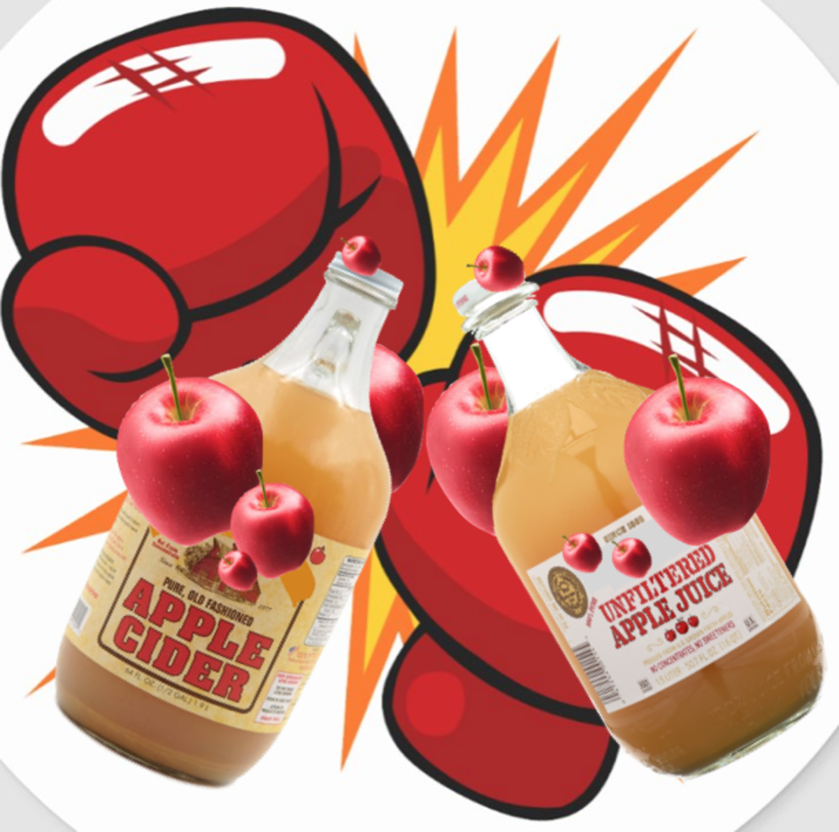 Get ready for the unfiltered apple juice vs. apple cider smackdown!