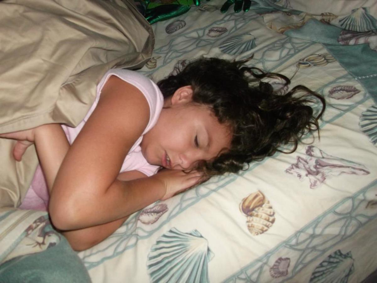 Get enough sleep.