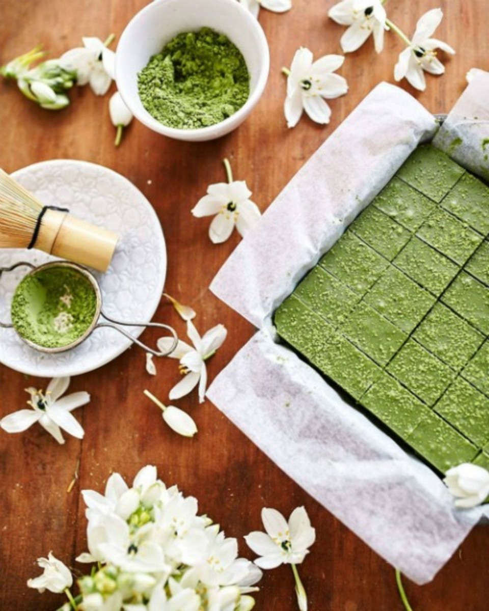 Matcha Green Tea Fudge
