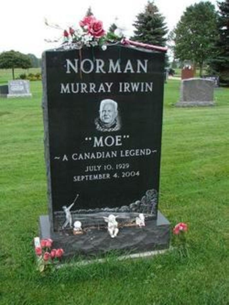 Moe Norman Grave Marker